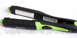 Утюжок-плойка для волос Scarlett SC-097 4в1, зеленая, фото 3