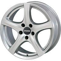 Ronal R42 R15 W6 PCD4x100 ET43 DIA68.1 crystal silver
