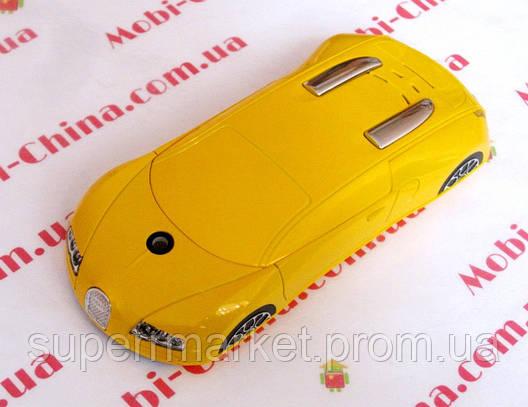 Машина-телефон Bugatti Veyron C618 dual+ TV, фото 2