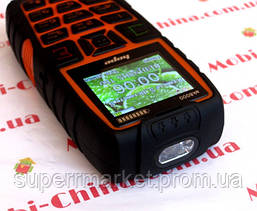 Телефон LAND ROVER  AK8000  HOPE   - 2 Sim  5000 mAh power bank , orange, фото 2