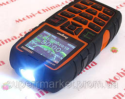 Телефон LAND ROVER  AK8000  HOPE   - 2 Sim  5000 mAh power bank , orange, фото 3