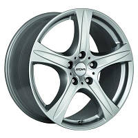 Ronal R55 R19 W9 PCD5x120 ET43 DIA72.6 crystal silver