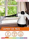 Пароочиститель ручной Camry CR 7021 3,5 bar, 1500w, 350мл, фото 9