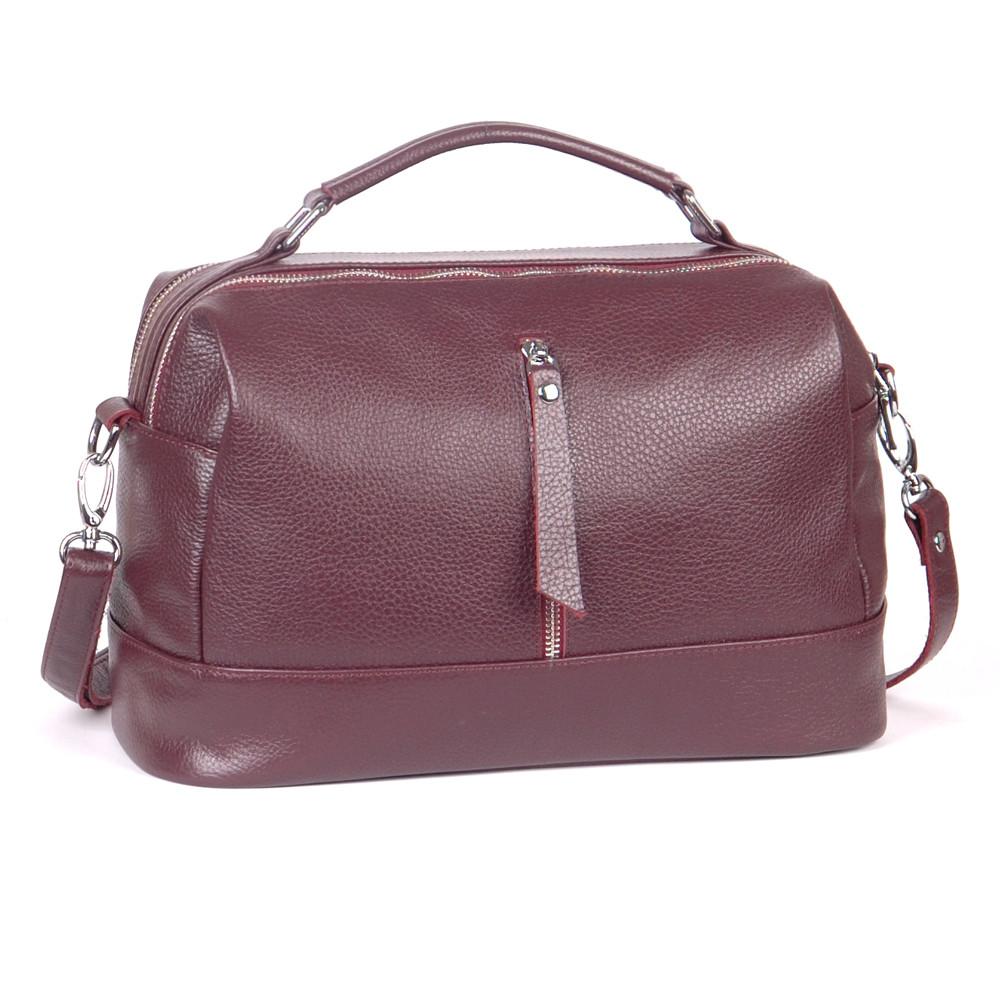 Женская кожаная сумочка 44 виноград 01440104