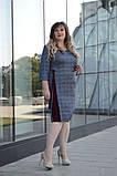 Женское трикотажное платье Размеры:54 56 58 60 62 64, фото 2