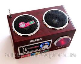 Акустическая колонка  Opera OP-7721, MP3 SD USB FM, фото 3
