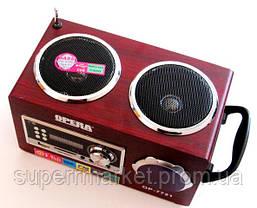 Акустическая колонка  Opera OP-7721, MP3 SD USB FM, фото 2