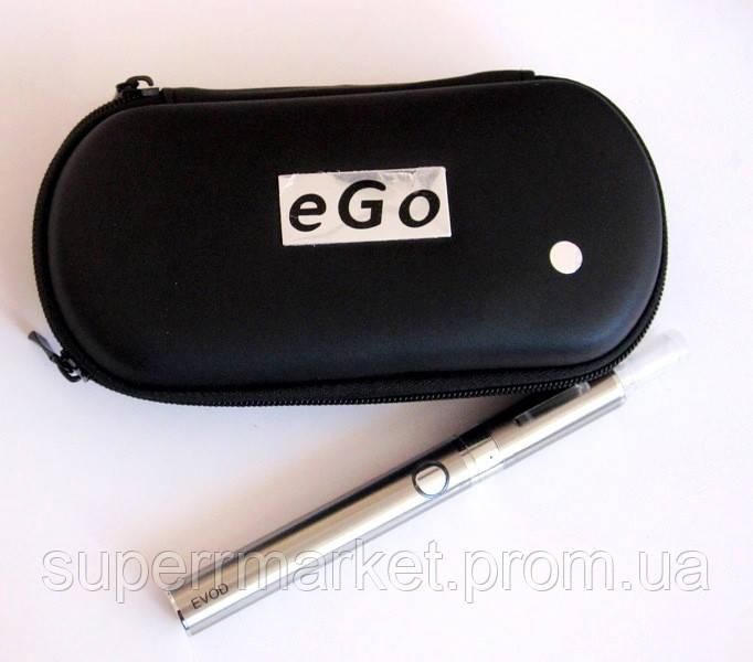 Электронная сигарета  EVOD 900 мАч, silver + чехол eGo