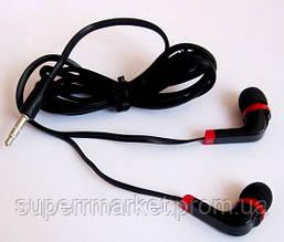 Вакуумные наушники Stereo  MD-A11 черные, фото 2