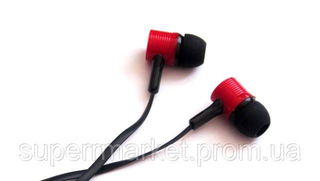 Вакуумные наушники Stereo  MD-A17 черные