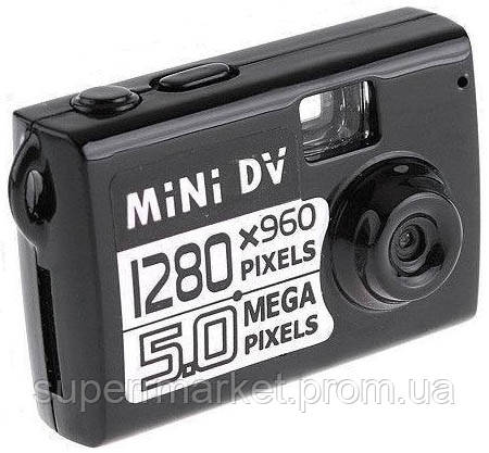 Мини камера Mini DV, DVR 5Mp HD 1280х960