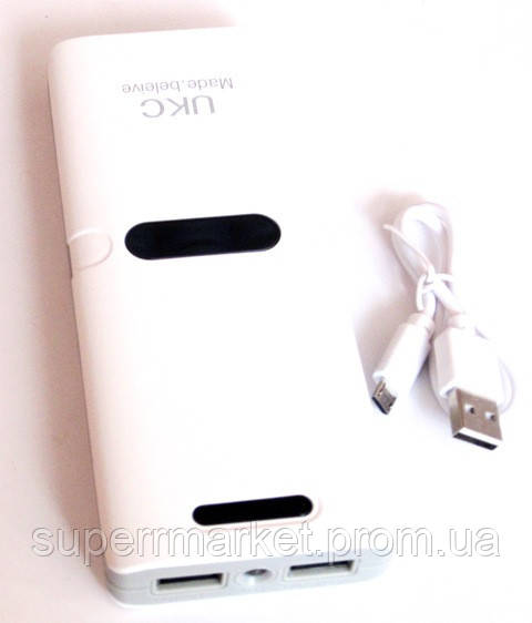 Универсальная батарея  - UKC power bank 22000 mAh
