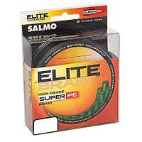 Шнур SALMO ELITE BRAID 0.50 Green 91м