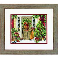 Набор для вышивания Dimensions 70-08961 Home for the Holidays Cross Stitch Kit