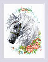 """Набор для вышивания Риолис """"Белогривая лошадка"""""""