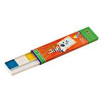 Краски акварель 6 цветов,  картонная коробка, без кисточки