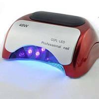Сушилка для ногтей Beauty nail K18 \ 48W, Профессиональная гибридная лампа для маникюра, Лэд лампа