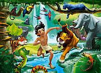 Детские пазлы Книга джунглей на 100 элементов Сastorland