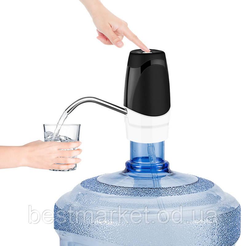 Автоматична Насадка Помпа на Пляшку Electric Touch Pump Електрична Помпа