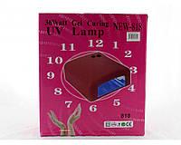 Сушилка для ногтей Beauty nail UV 818 K, УФ лампа для сушки гель-лака и геля с таймером, Лампа для наращивания
