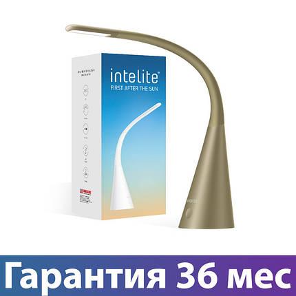 Лампа настольная Intelite LED 5W DL4-5W-BR, светильник светодиодный, фото 2