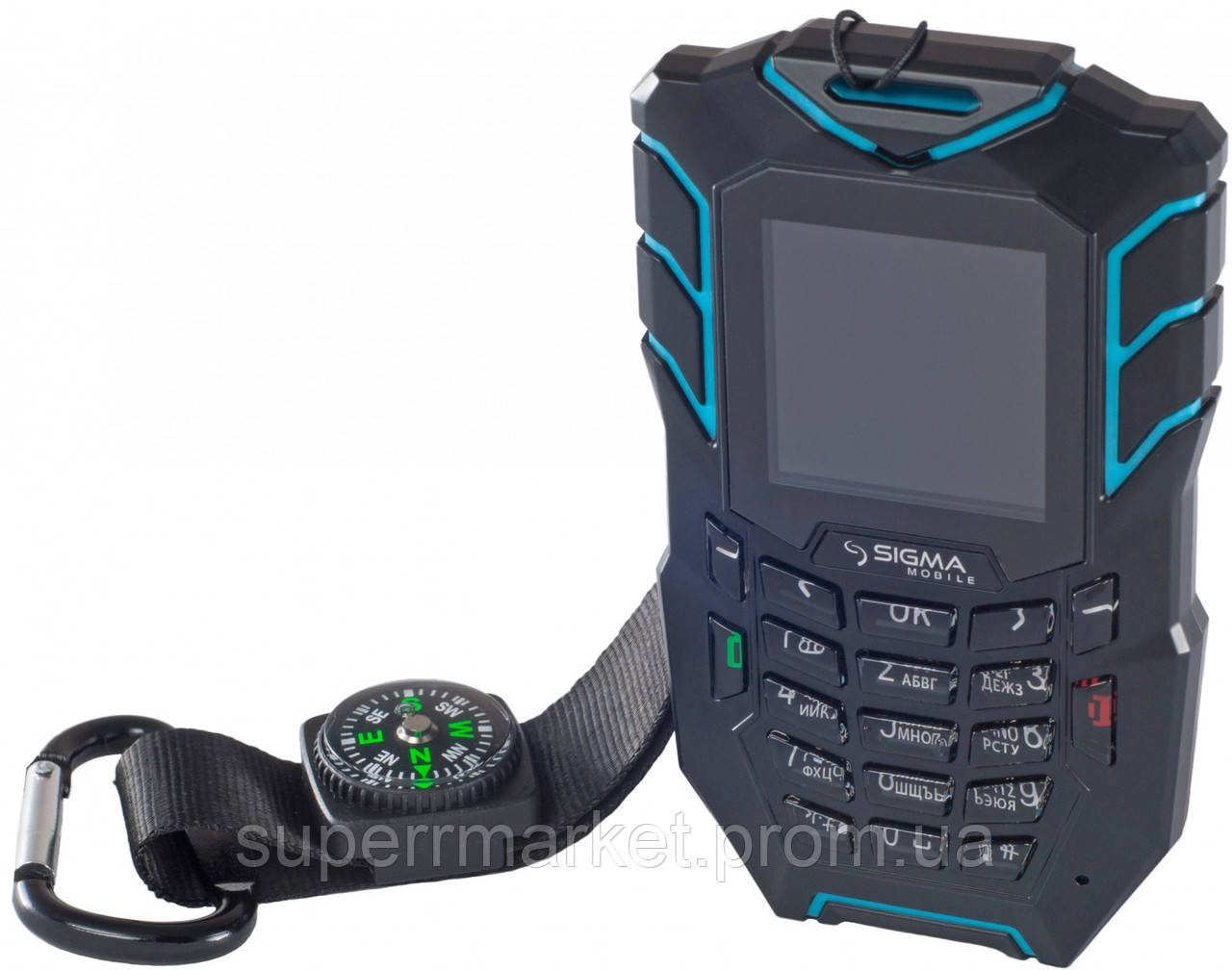 Телефон Sigma Х-treme AT67 Black-blue