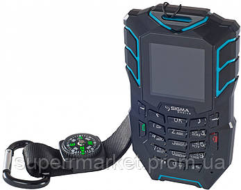 Телефон Sigma Х-treme AT67 Black-blue, фото 2