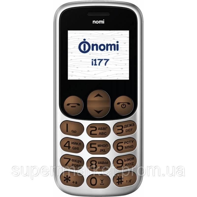 Телефон Nomi i177 metal Brown