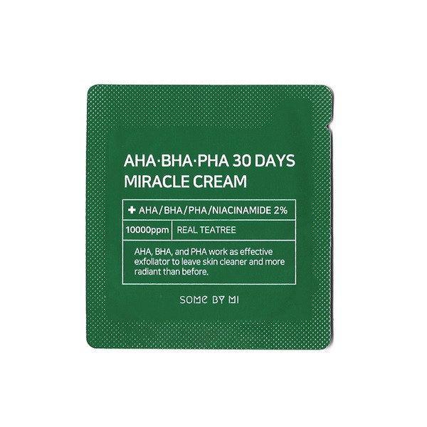 Some By Mi AHA/BHA/PHA 30 Days Miracle Cream Крем для лица 1 мл Корея