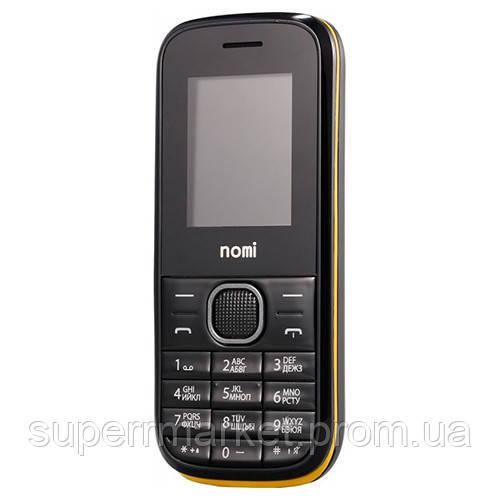 Телефон Nomi i181 Black -yellow