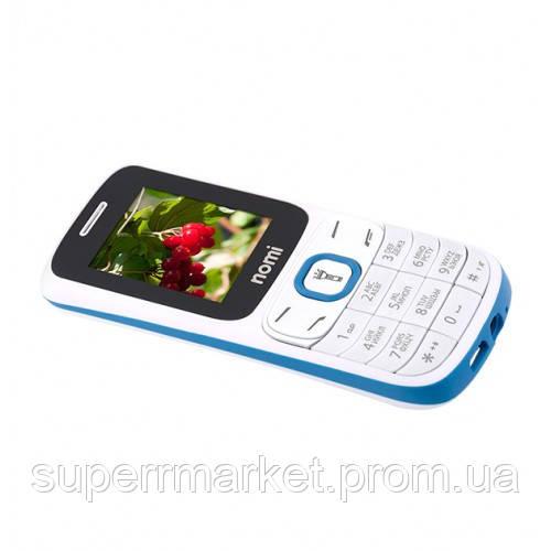 Телефон Nomi i183 White-blue
