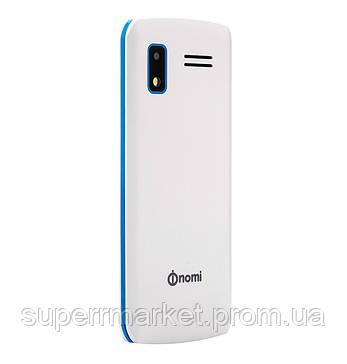 Телефон Nomi i243 White-blue, фото 2