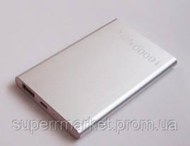 Универсальная мобильная батарея  в стиле mi Xiaomi mobile power bank  16000 mAh, silver, фото 3