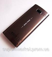 Копия Nokia X200 - dual sim, brown, фото 3