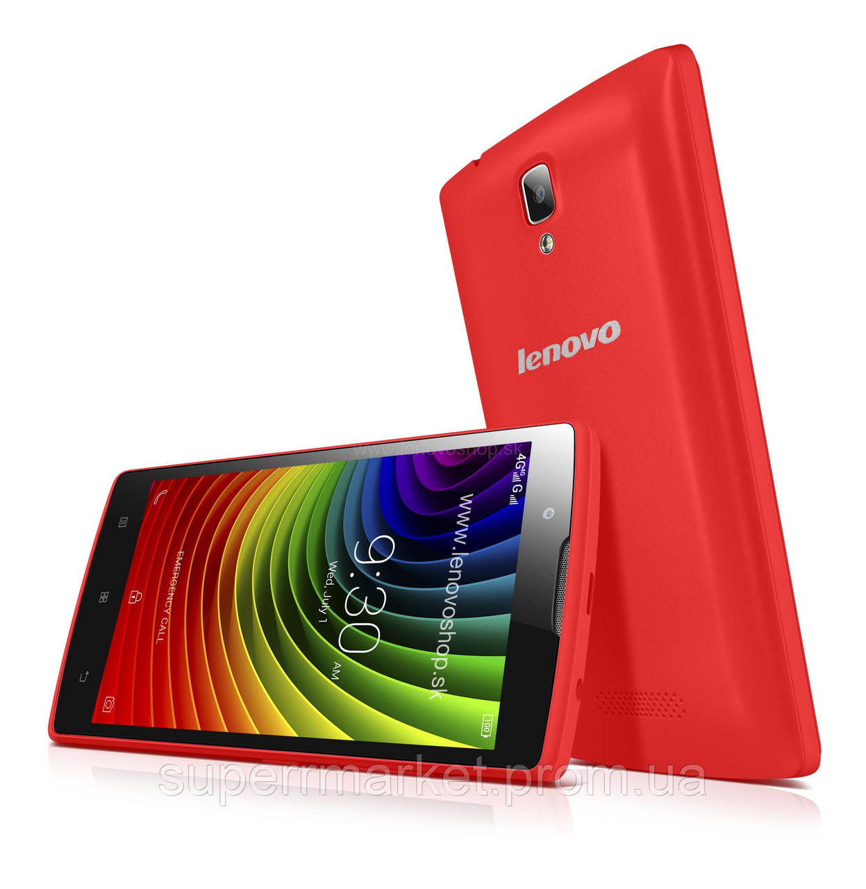 Смартфон Lenovo A2010 8GB Red