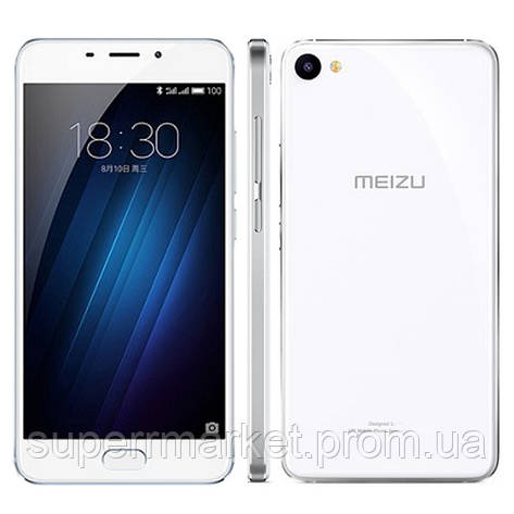 Смартфон MEIZU U20 Octa core 32GB White, фото 2