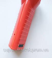 Фонарик аккумуляторный 2 в 1 JJY-9950 красный, фото 2