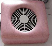 Пылесос настольный для маникюра розовый