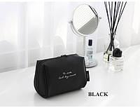Косметичка с внутренними карманами Genner черная 01032/01, фото 1