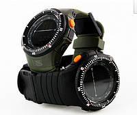 Мужские военные часы Skmei Мilitary Shock спорт
