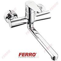 Смеситель Ferro Algeo BAG5  настенный для мойки