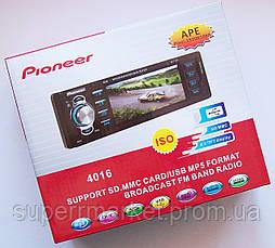 """Автомагнитола Pioneer 4016 с экраном 4,1"""" MP5, фото 3"""