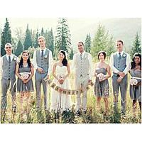 Аксессуары для фотосессии Гирлянда Just married квадратня