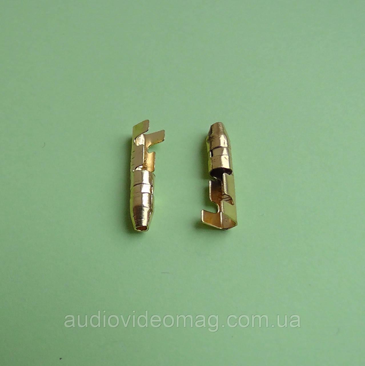 Клемма трубчатая 3.5 мм, папа, упаковка 50 шт.