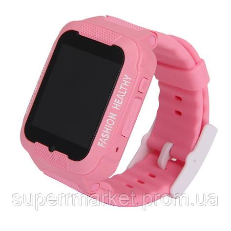 Smart Watch K3 Kids GPS детские смарт часы Pink ' ', фото 2