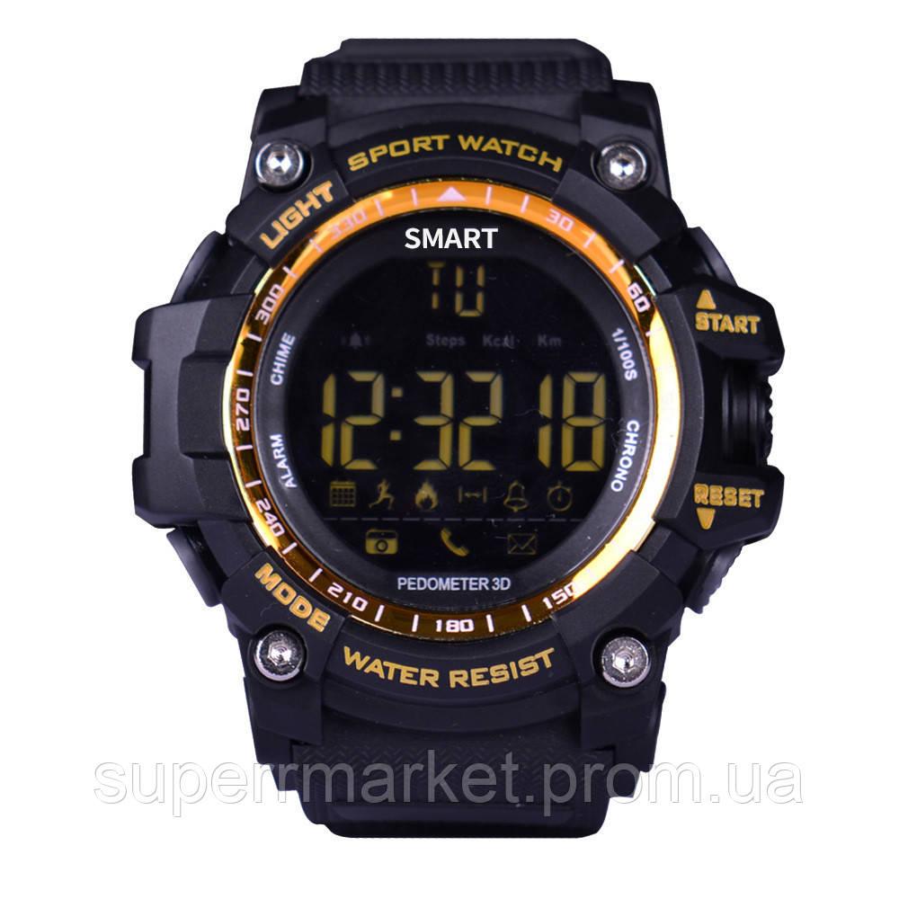 Смарт - часы SMART WATCH EX16 IP67 gold ' '