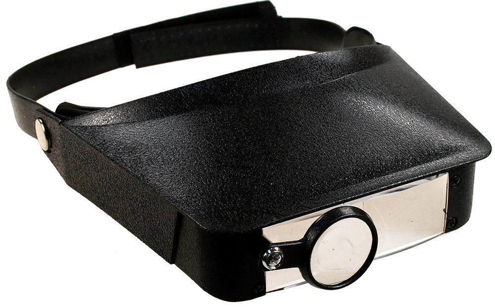 Бинокулярные очки (бинокуляры) со сменными увеличительными стеклами до 4.8х, MG81006