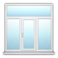 Двухстворчатое окно с поворотно-откидной створкой WDS 500 нар. Лам. 1800х1800 с энергосбережением