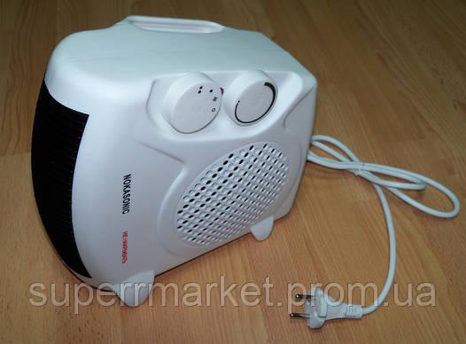 Электрический бытовой напольный тепловентилятор Nokasonic NK-202 2кВа  дуйка  обогреватель, фото 2
