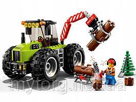 Конструктор Compatible Legoe City 60181 Трактор на лесоповале 194 шт.